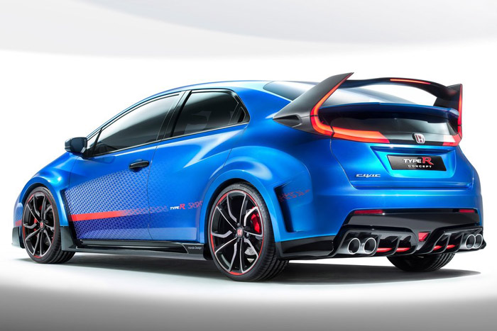 Продажи нового Honda Civic Type R стартуют в 2015 году
