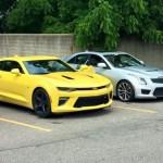 2016 Chevrolet Camaro SS замечен в Детройте