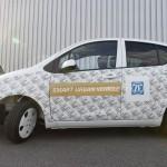 Компания ZF научила электрокар парковаться с помощью часов