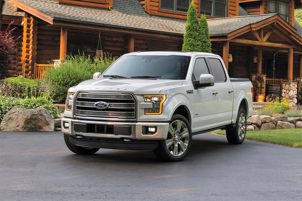 Ford представил самый дорогой F-150