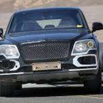 Кроссовер Bentley испытали в Долине Смерти