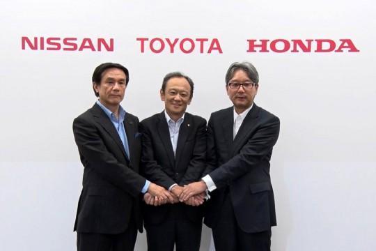 Honda, Nissan и Toyota — партнёры в области распределения водорода в Японии